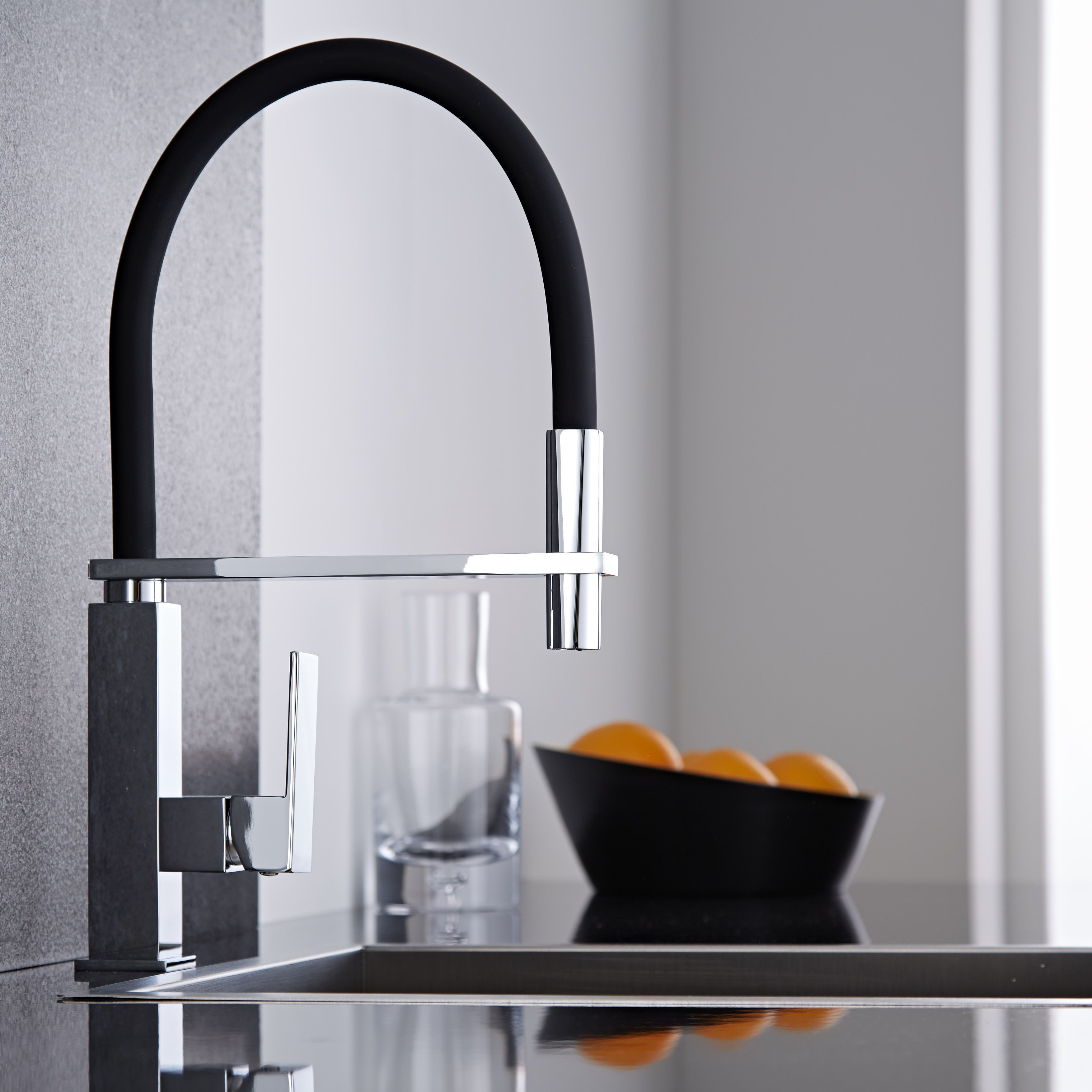 Add A Designer Touch To Your Kitchen With The Milano Mixer Tap With