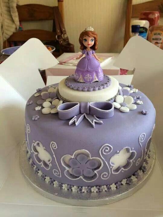 Princesa Sofia Pasteles Pinterest Sofia cake Cake and