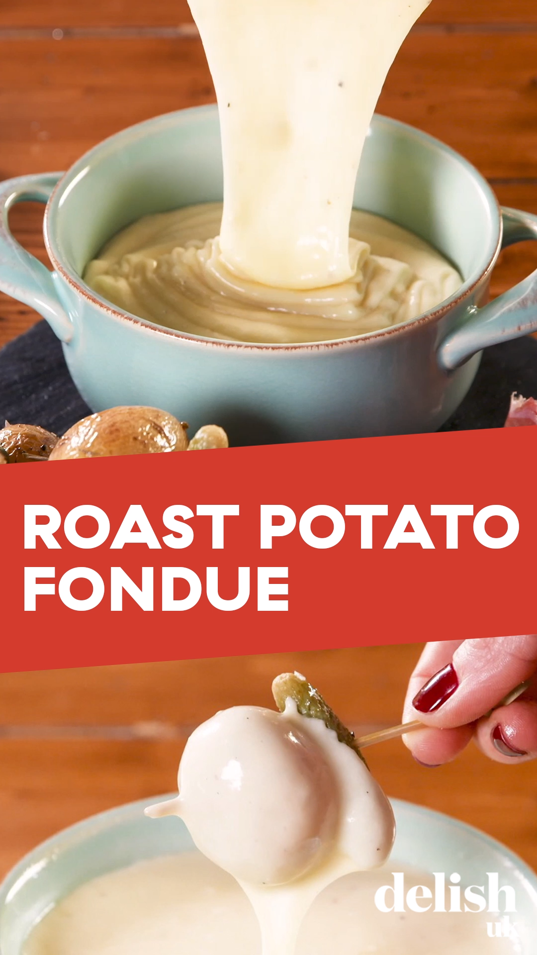 Roast Potato Fondue