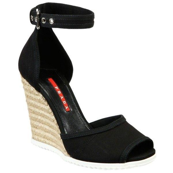 Pre-owned - Black Suede Sandals Prada Buy Cheap Manchester Nn0wDdbus
