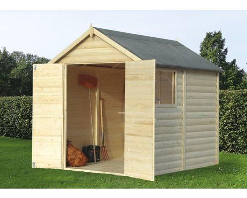Abri à outils Konsta, modulaire, 180x240 cm, nature acheter sur ...