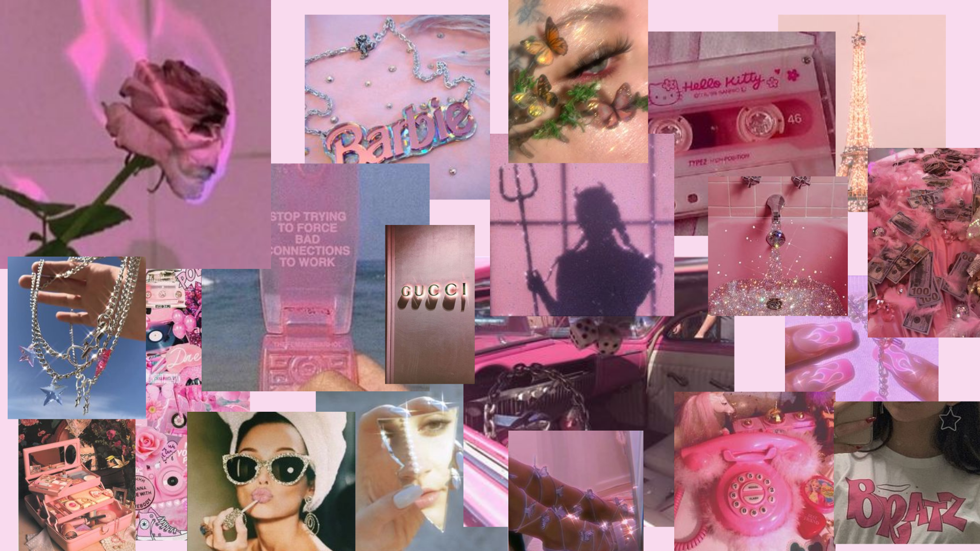 Aesthetic Laptop Wallpaper Collage