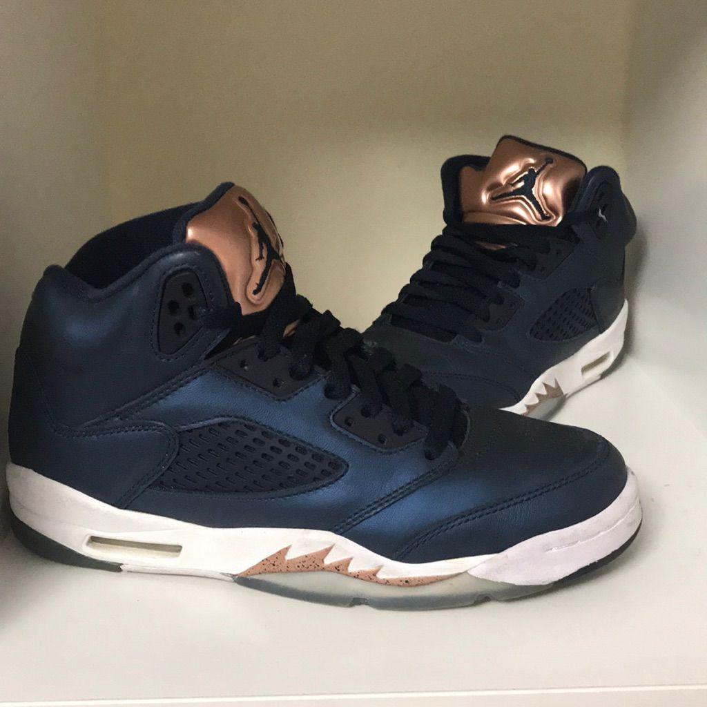 new products 4414f 39790 Jordan Shoes | Air Jordan 5 Retro | Color: Blue/White | Size ...