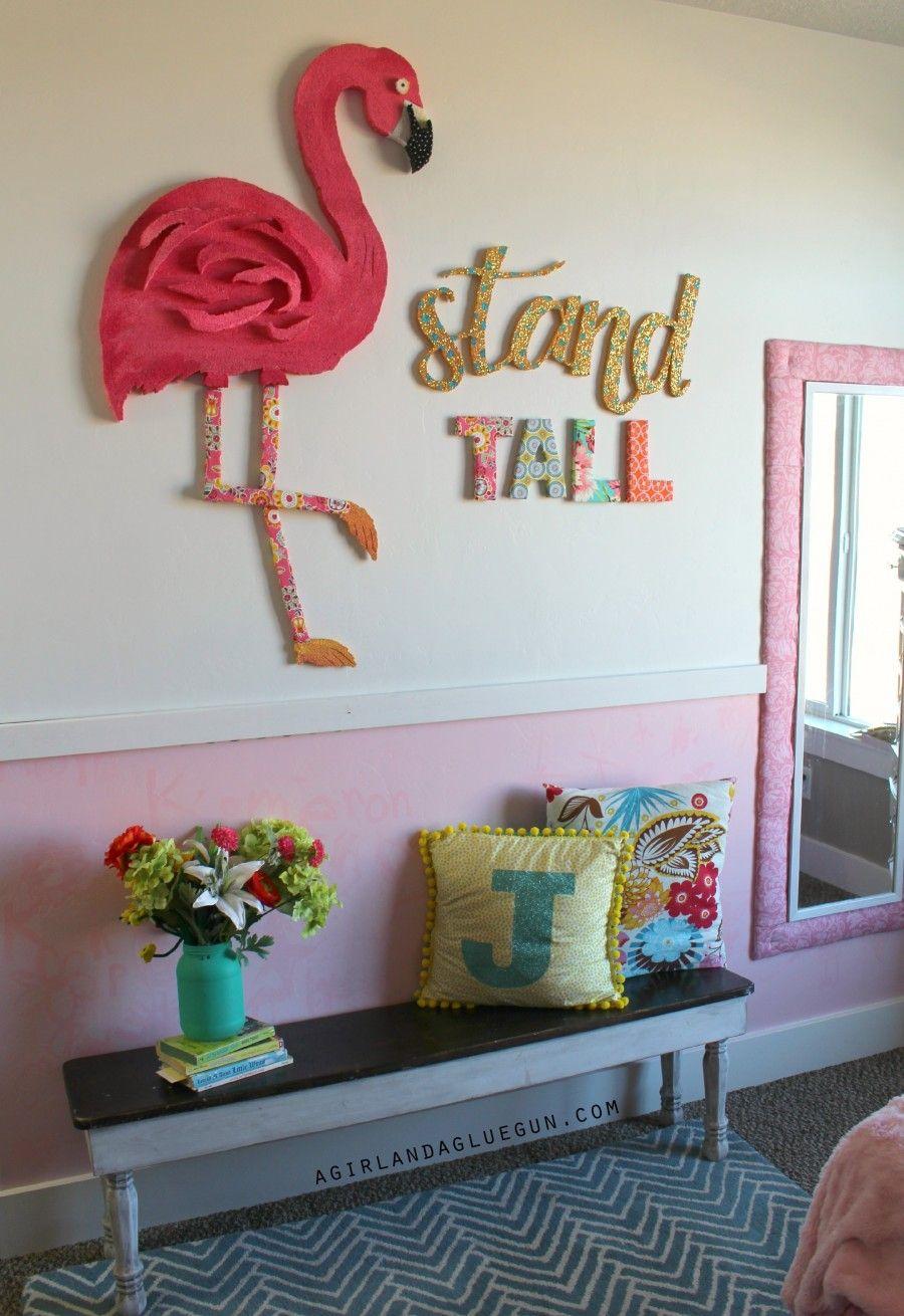 Flamingo 2 Bedroom Suite: Stand Tall-giant Flamingo