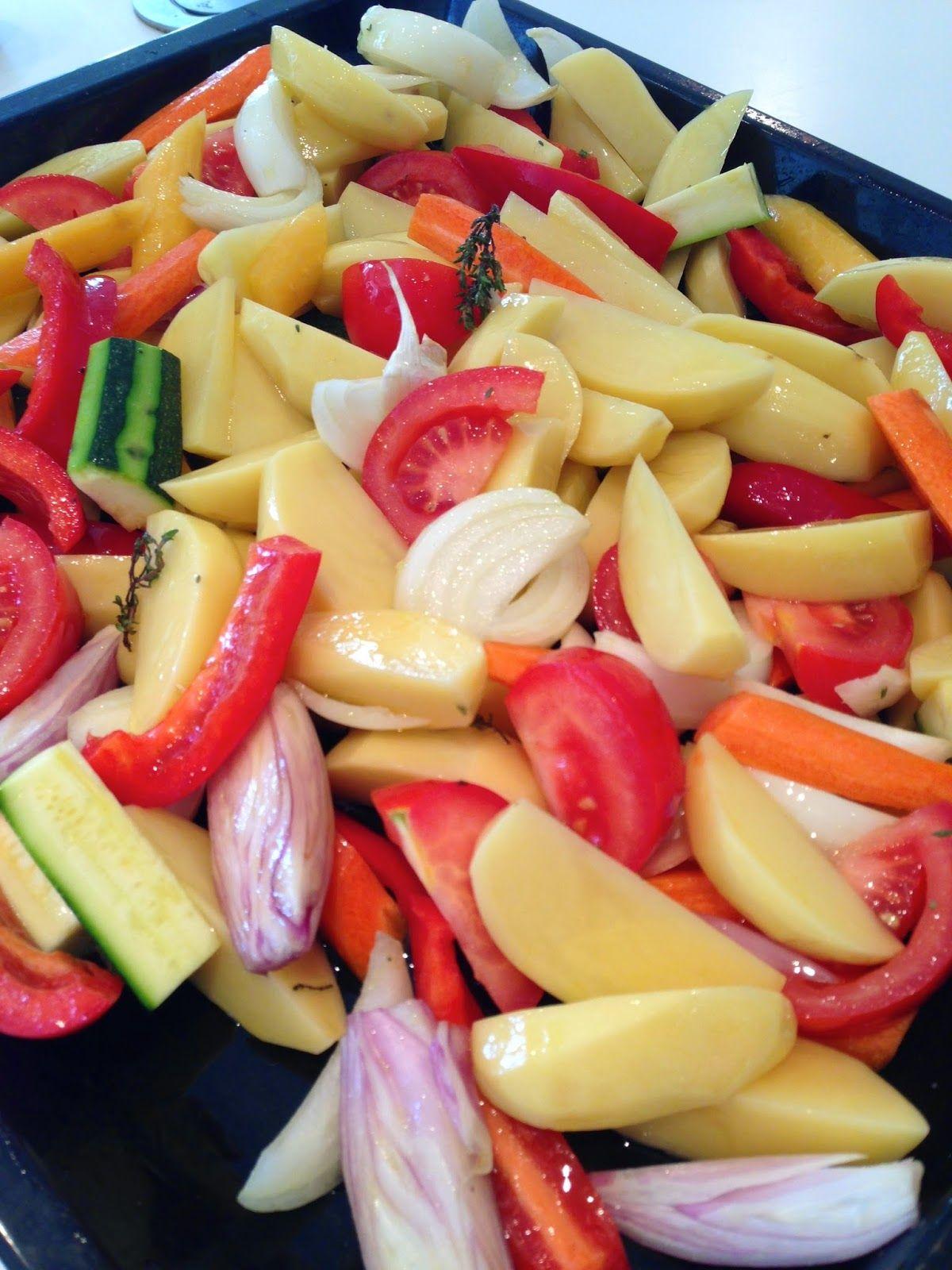 Les secrets de la recette l gumes r tis au four cuisine l gumes r tis au four l gumes - Recette legumes grilles au four ...