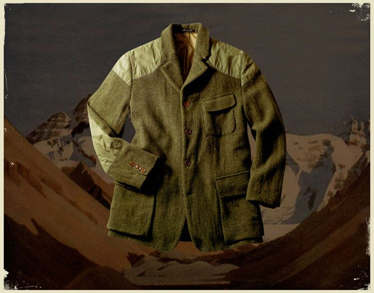 295b3d42f9918e A design taken from images of Sherpa Norgay Tenzings tweed  sports jacket   which he wore on many Everest expeditions. A Harris Tweed jacket with 100%  Cotton ...
