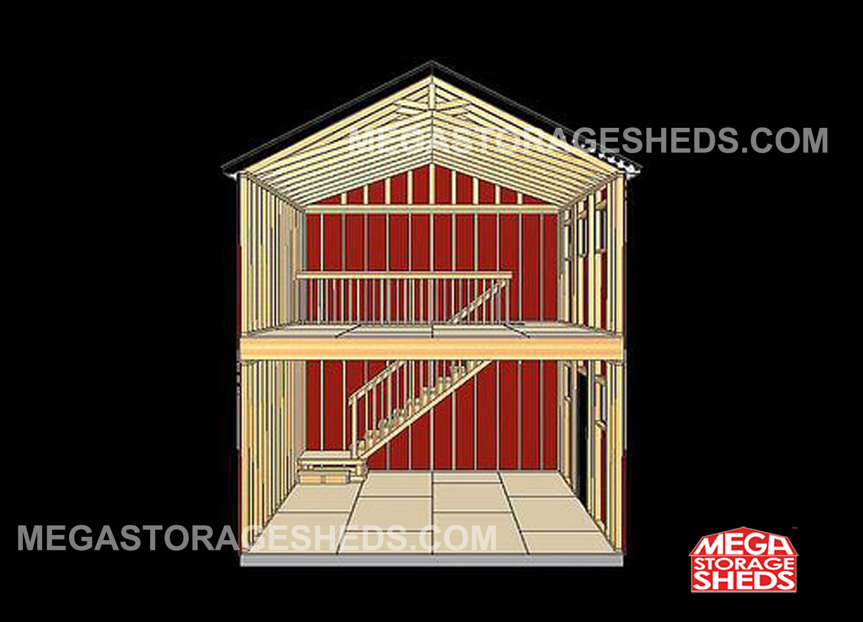Two Story Cabins Mega Storage Sheds Tuff Shed Shed Storage Shed Homes