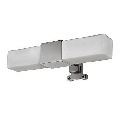 Applique halogène DUO CARRÉ pour miroir de salle de bains - Meuble Avec Miroir Pour Salle De Bain