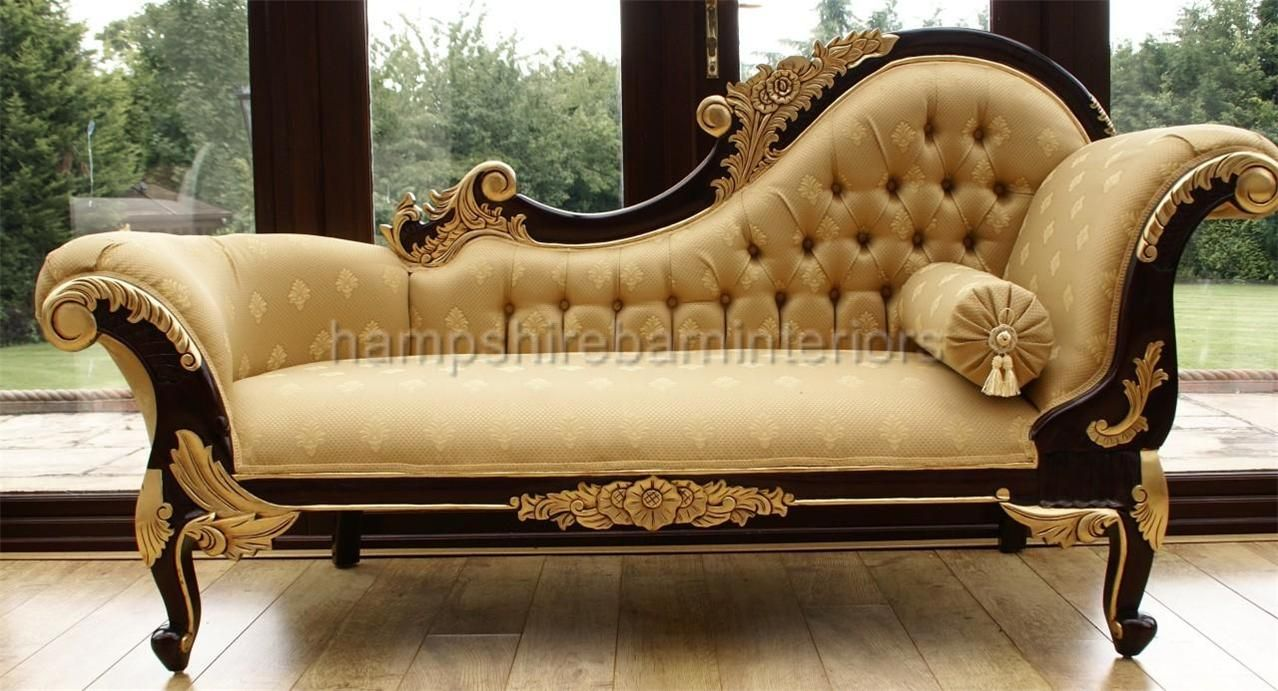 Medium Chaise Longue Hampshire Barn Interiors Sofa Set Designs False Ceiling Bedroom Wooden Sofa Set Designs