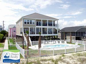 garden city beach rental beach home sea spirit myrtle beach vacation rentals by dunes - Garden City Beach Rentals