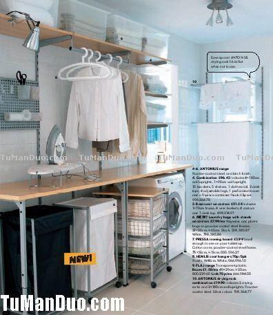 2007 Ikea Usa America Style Laundry Room Shelf