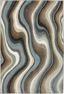 A Bold Wave Pattern In A Contemporary Color Palette Karastan