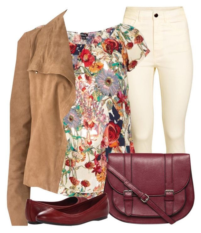 """Untitled #733"" by dd-christina ❤ liked on Polyvore featuring H&M, Dorothy Perkins, Amanda Wakeley and Frye"