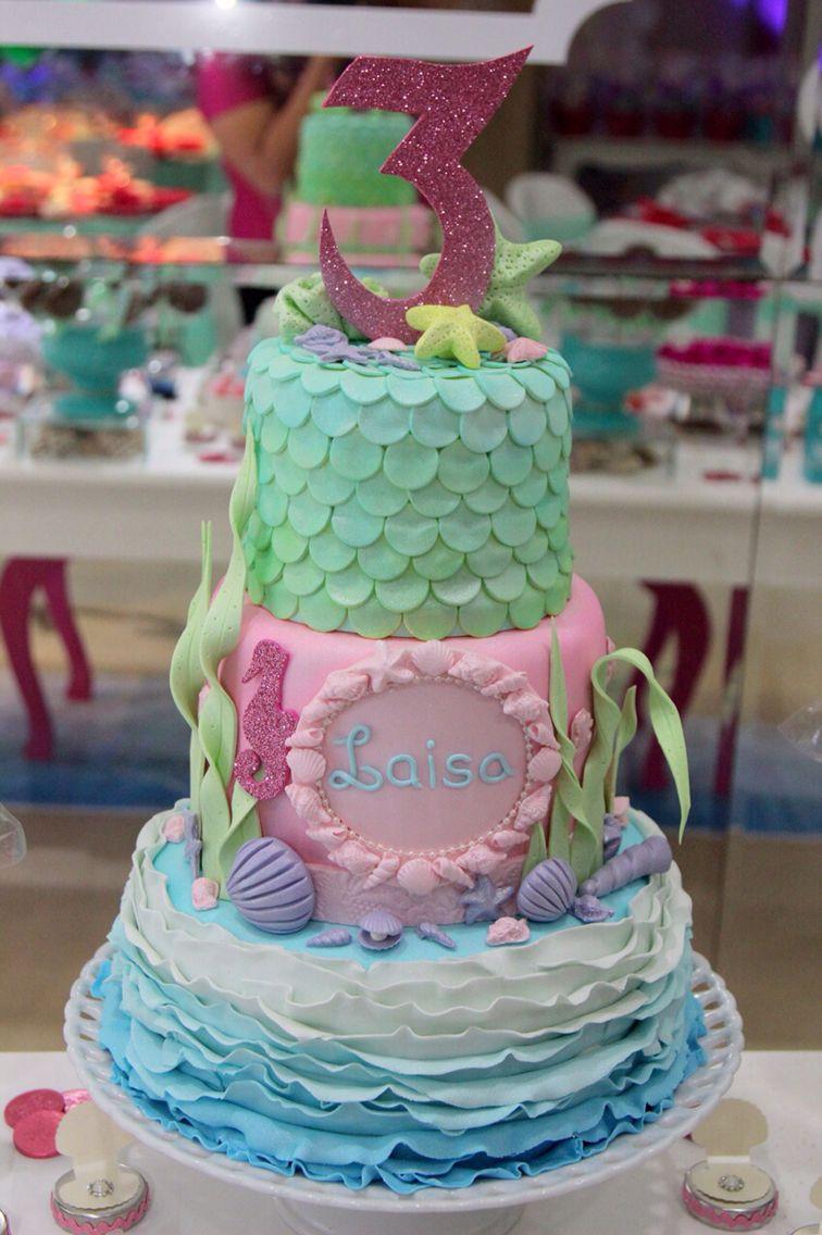 Cake Fundo Do Mar Barbie Pearl Princess Barbie Cake