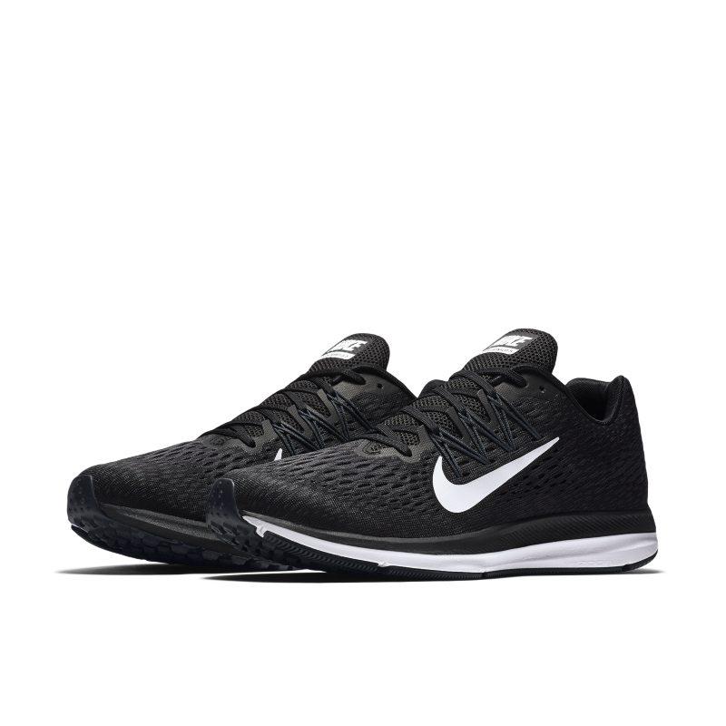 sitio Presa espejo  Nike Air Zoom Winflo 5 Men's Running Shoe - Black | Black running shoes, Nike  air zoom, Running shoes for men