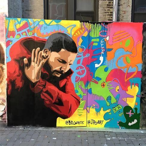 Jpoart in nyc 2017 street art nyc pinterest nyc for Audrey hepburn mural los angeles