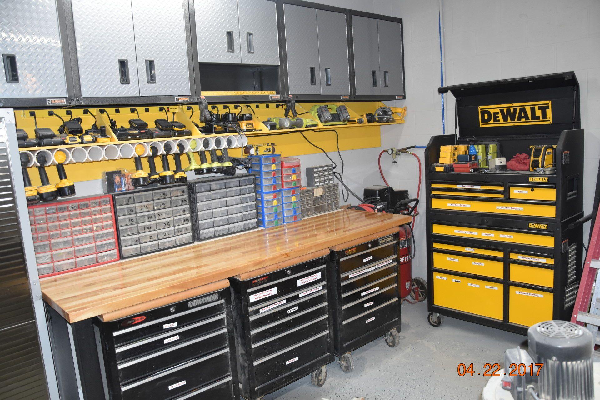 garage work area | garage | pinterest | ordnungssystem und tafel