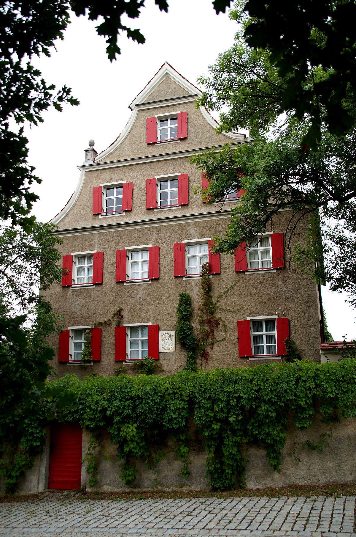 Https De M Wikipedia Org Wiki Schloss Hohengebraching Wprov Sfla1 In 2020 Schloss Burg Walmdach
