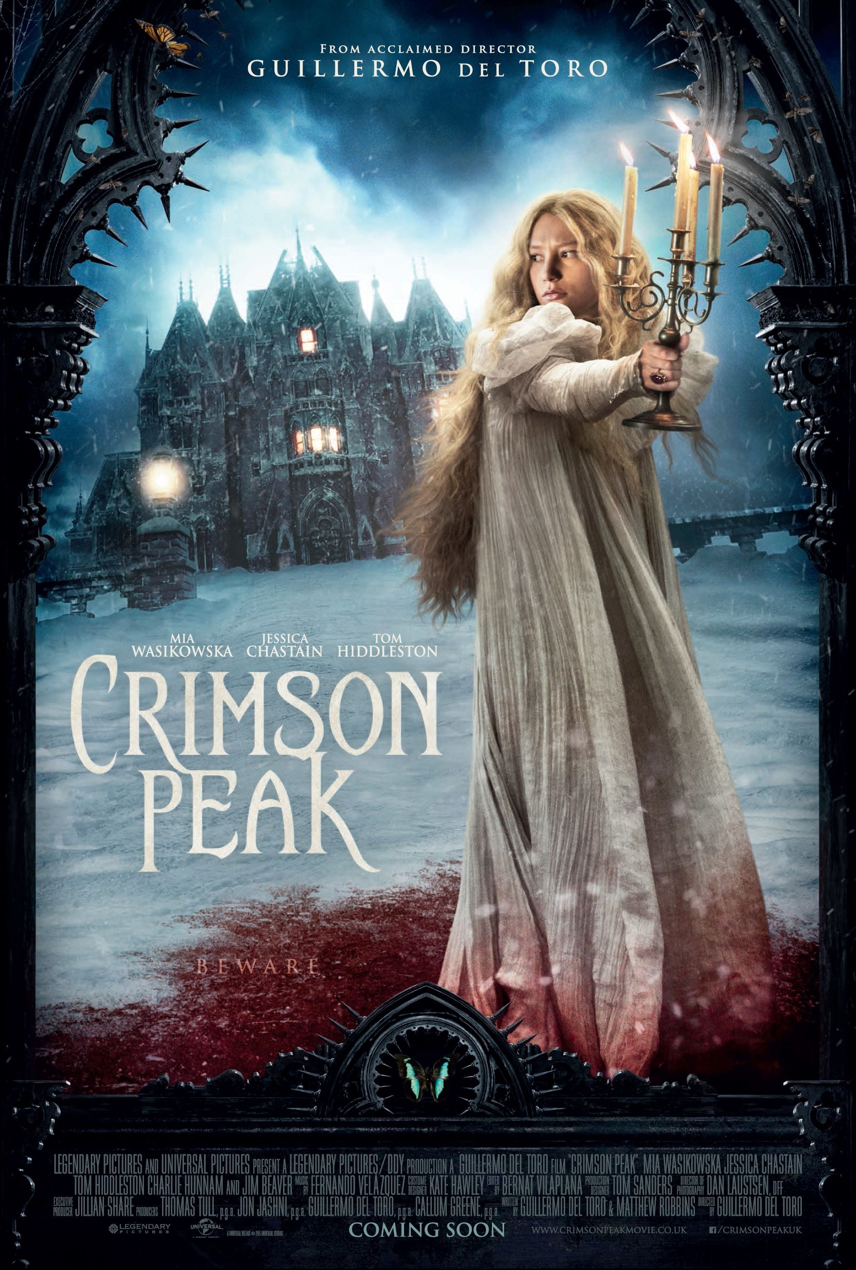 Crimson Peak - wonderful Gothic Romance http://jensketch.com/reviews ...