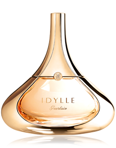 "Guerlain - Idylle Eau de Parfum - ""I imagined for IDYLLE a bouquet of fresh and joyous flowers, symbol of love: lily of the valley, lilac, freesia, peony, jasmine and a sublimated raw material, the blend of bulgarian roses, married with the chypre sensuality."" Thierry Wasser, Parfumeur Guerlain."