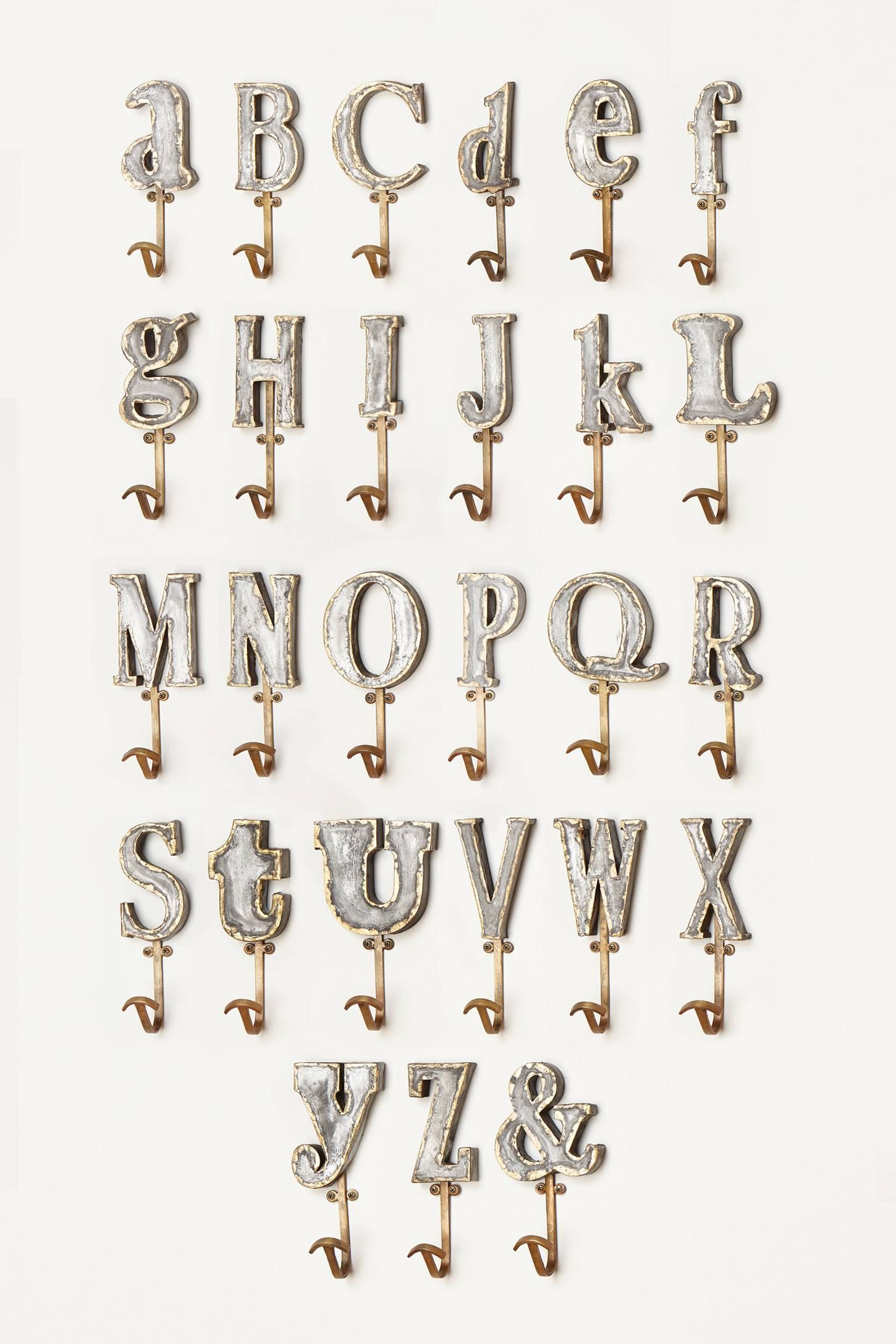 The Marquee Letter Hook And More Anthropologie At Today Read Customer Reviews Discover Product Detailore