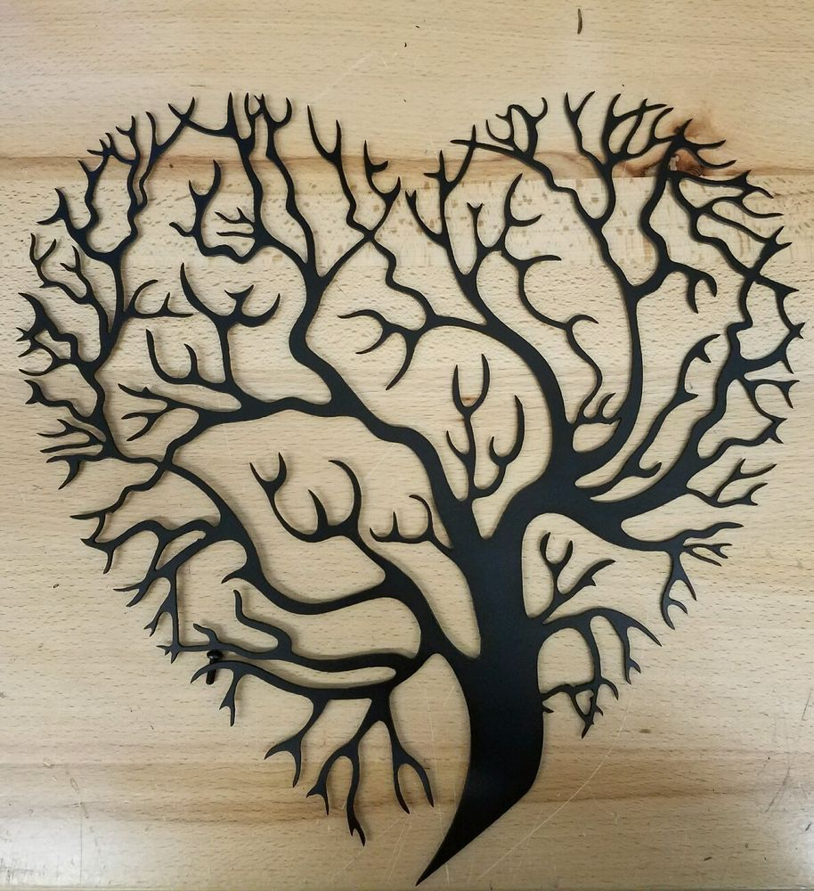 Details About 36 Metal Wall Art Decor Tree Of Life Heart