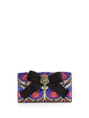 71f4796c2b22 GUCCI Broadway Lurex Floral Jacquard Clutch. #gucci #bags #lining #clutch  #silk #hand bags #