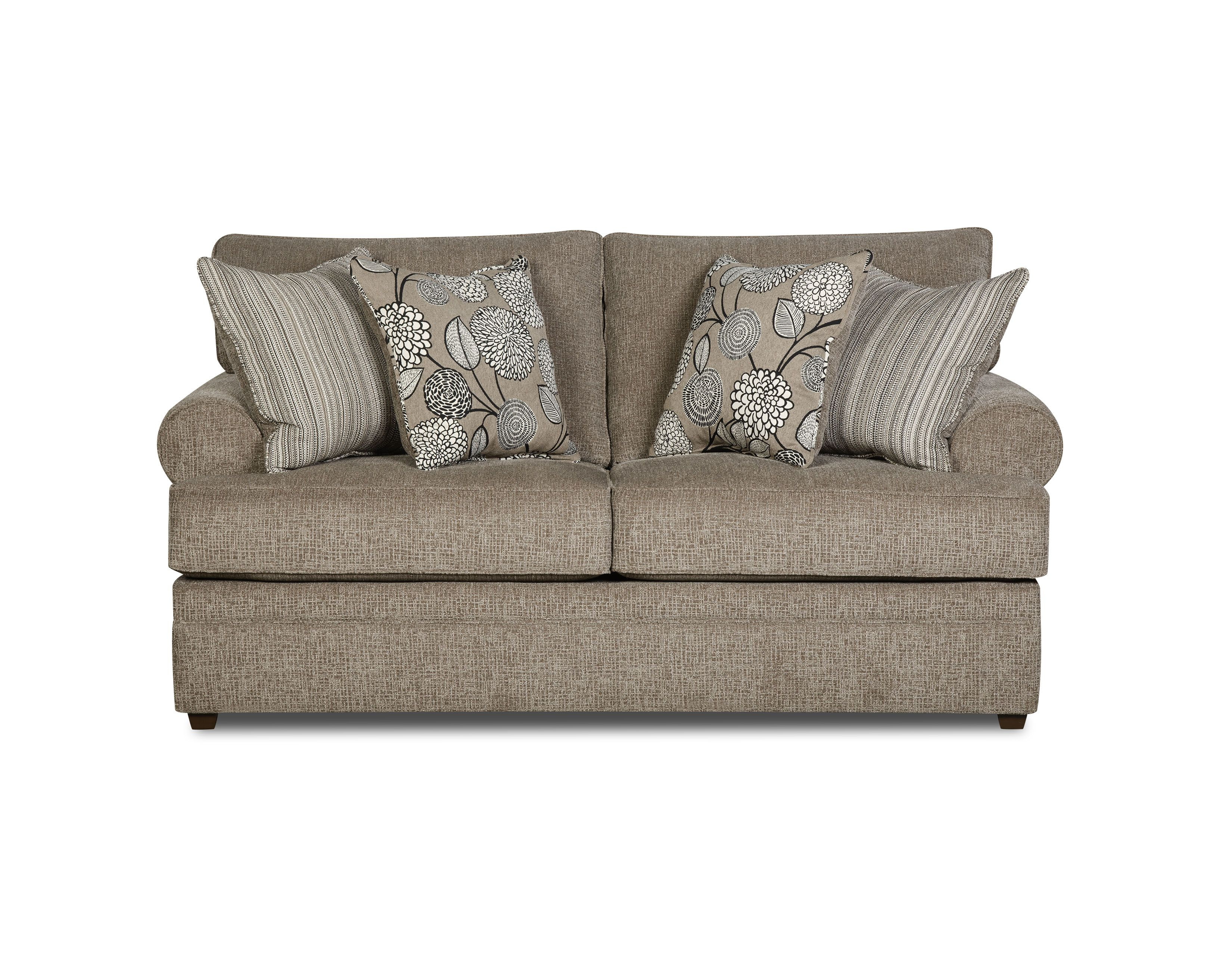 559 75 Quot Simmons Really Loveseat Sofa Upholstery