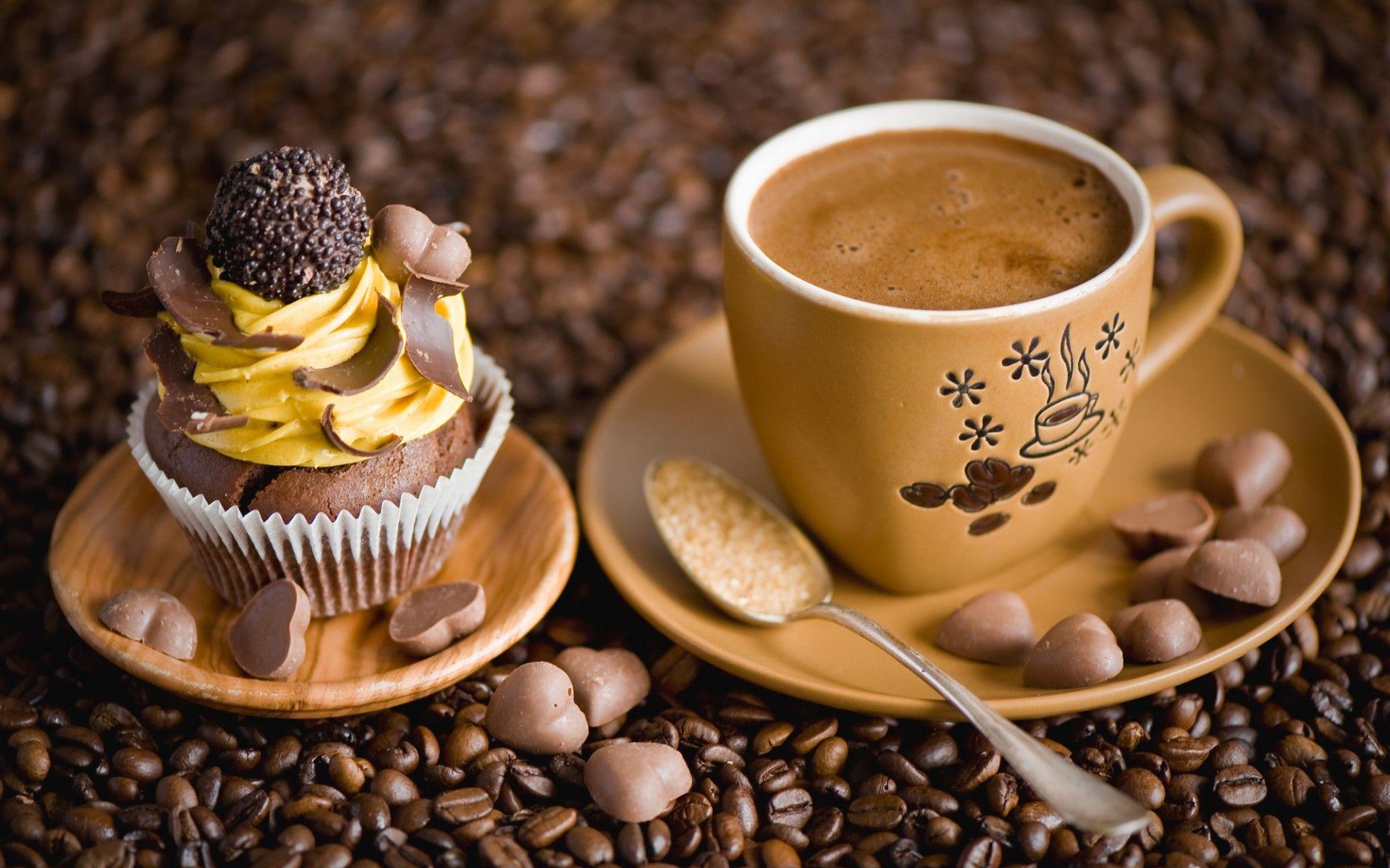 Обои кофе. Еда foto 12