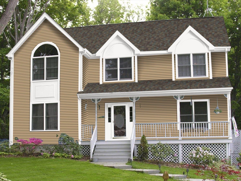 Certainteed Buckskin House Exterior House Siding Exterior House Renovation