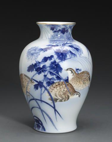 Japanese Fukagawa Porcelain P Japanese Fukagawa Porcelain