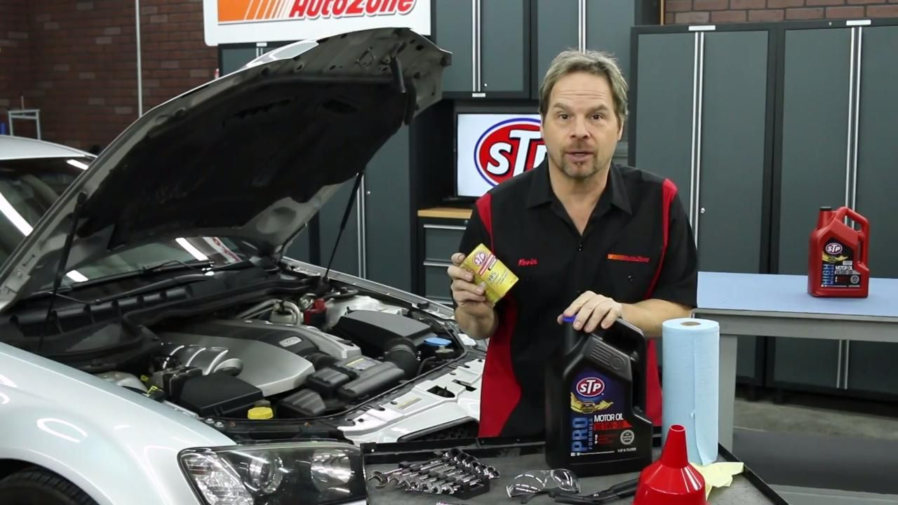 How to Change Your Oil – AutoZone How to Videos | autozone