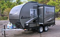 Camplite Ultra Lightweight All Aluminum Travel Trailers Livin