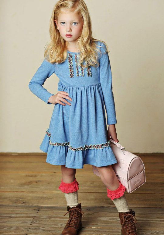 Caitlin Lap Dress Matilda jane clothing, Blue long