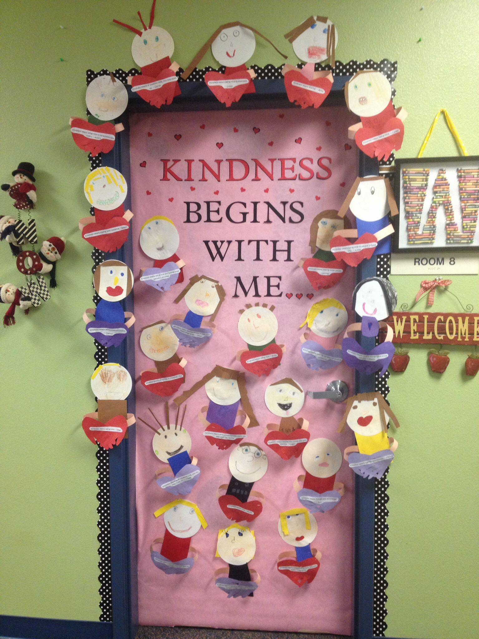 Kindness Door Decorating Contest Winner My Classroom