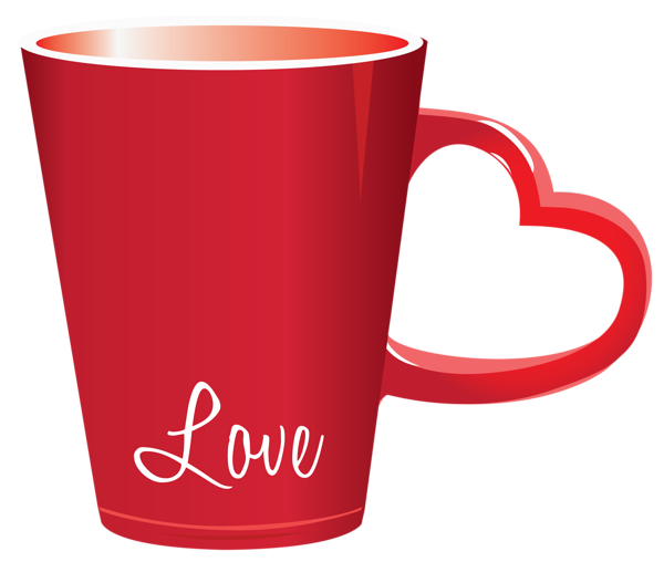 Red Valentine Love Cup Png Clipart Picture Clip Art Colorful Heart Art Gift
