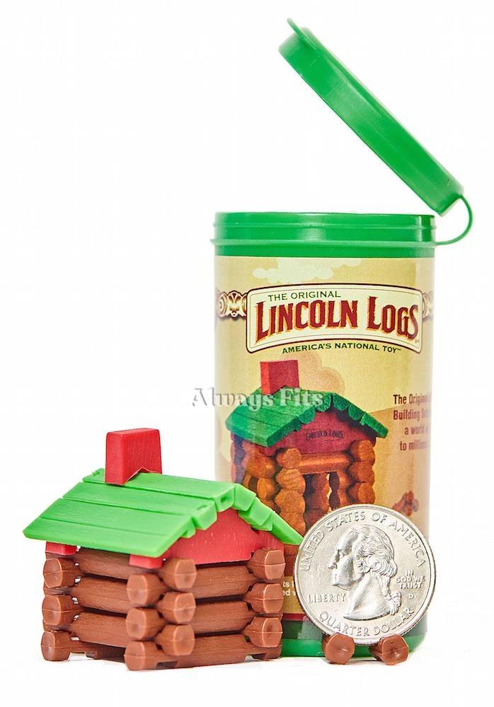 World's Smallest Lincoln Logs Lincoln logs, Little log