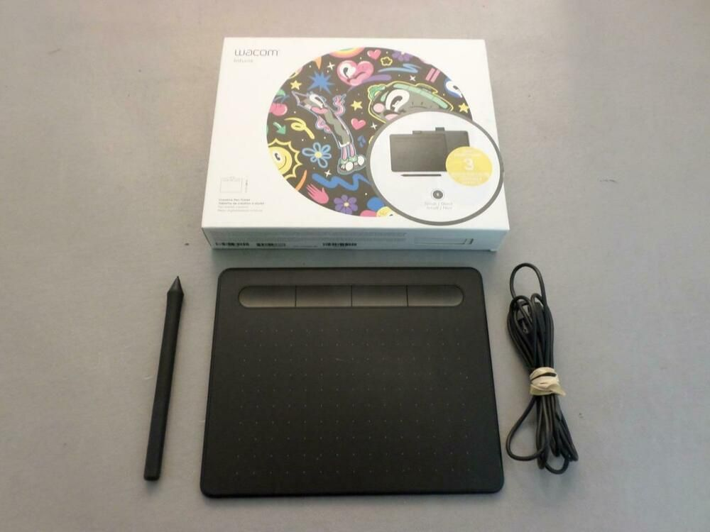 Wacom Intuos Creative Pen Small black tablet CTL-4100 in box
