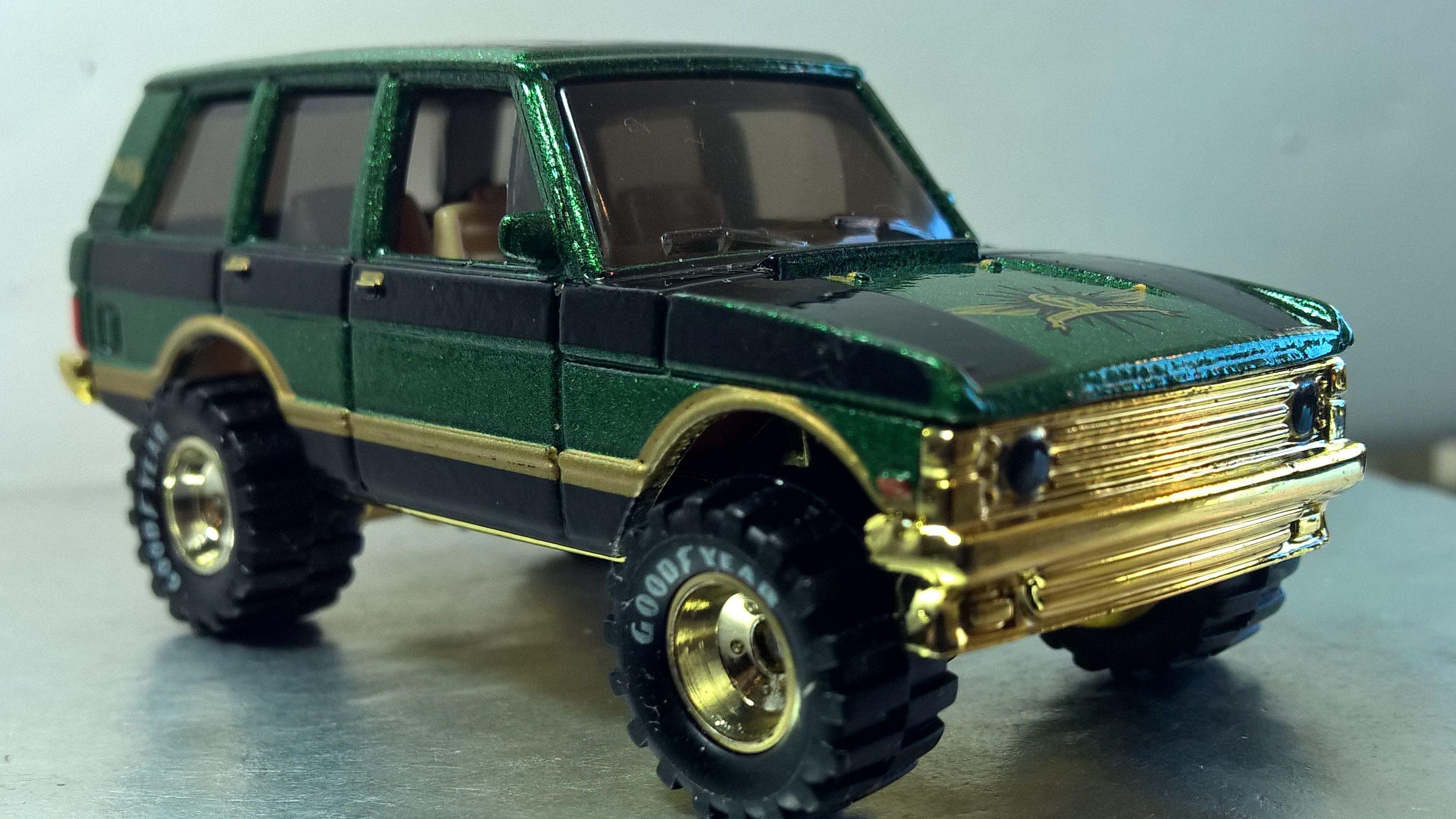 hot wheels range rover final run 1999 [ 3072 x 1728 Pixel ]