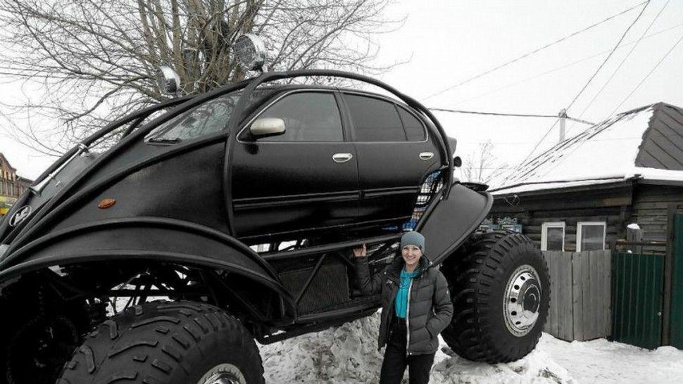 Nissan monster truck Weird cars, Monster trucks, Trucks