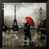 Paris Romance by Kate Carrigan Framed Art #westframes