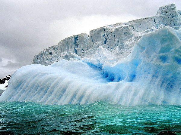 Eisberge Nordlichter Norwegen Sudlicht Eislandschaft