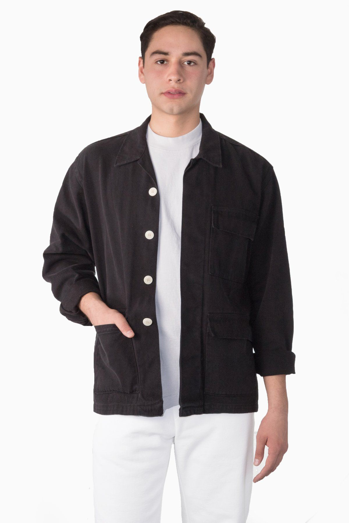Rct400gd 10 Oz Twill Military Jacket Los Angeles Apparel Jackets Military Jacket Twill
