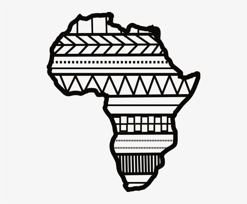 Download Close Black And White Africa Clipart Png Image For Free Search More Creative Png Resources With No Backgrounds On Africa Outline Africa Art Africa
