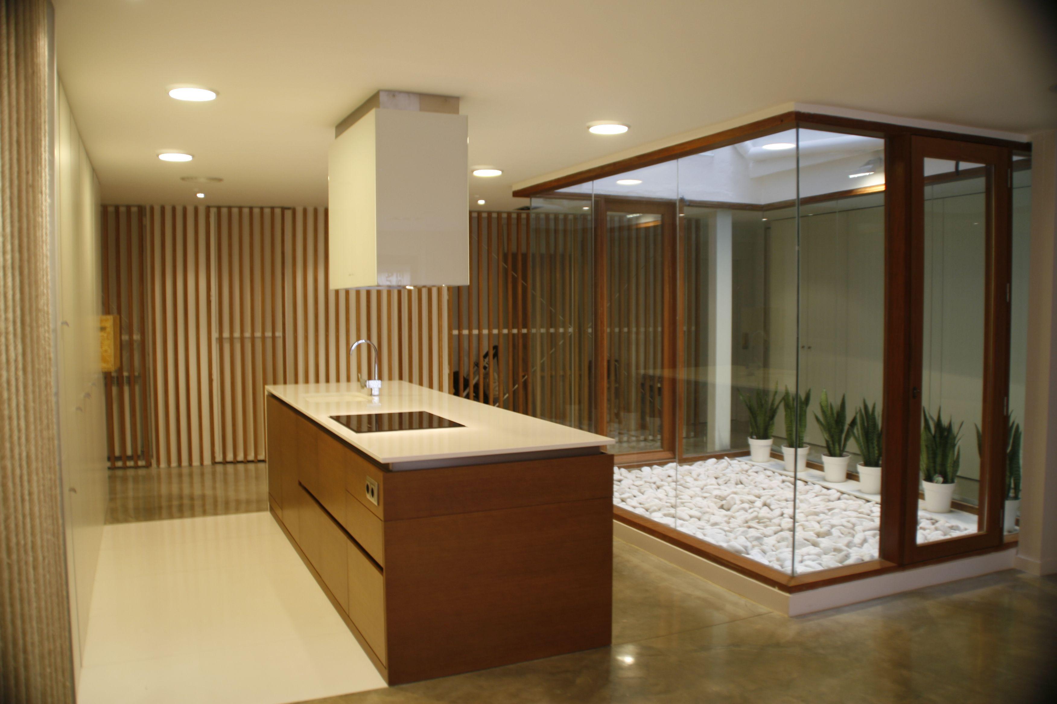 Ideas de #Decoracion de #Galería, #Cocina, #Patio, estilo #Moderno ...