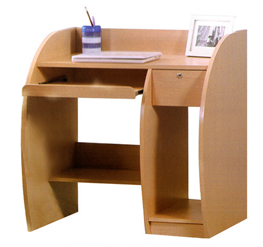 Simple Design Wooden Computer Desk Table (kt892) Photo ...