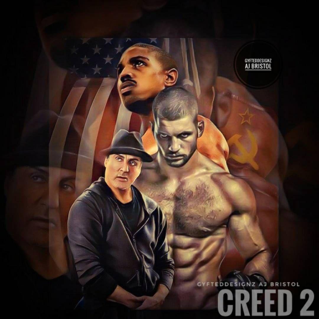 Creed Ll Concept Art Portadas De Películas Rocky Balboa Balboa