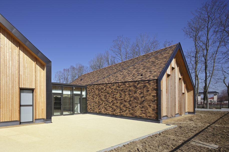 Nomade Architectes  Maison de la petite enfance