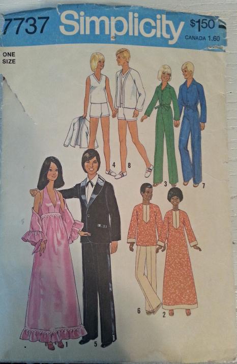 Pin von Jeann\'s Two Girl Pugs@Bonanza.com auf Barbie Sewing Patterns ...