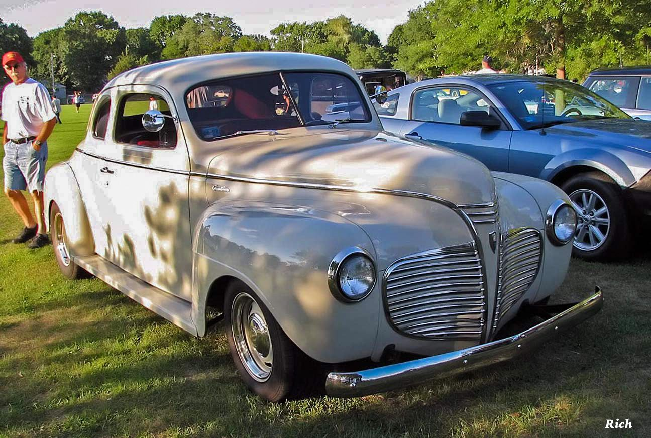 1941 Plymouth Business Coupe 2 Dr Altered